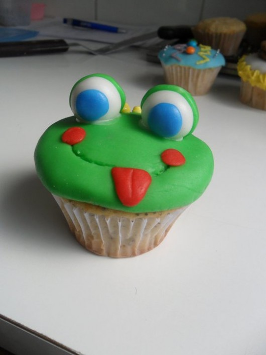 Cupcake Idea Frog