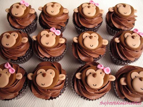 Cupcake Idea Monkey