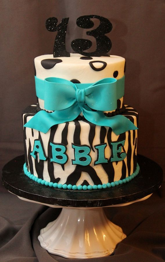 Cute 13th Birthday Cakes for Girls