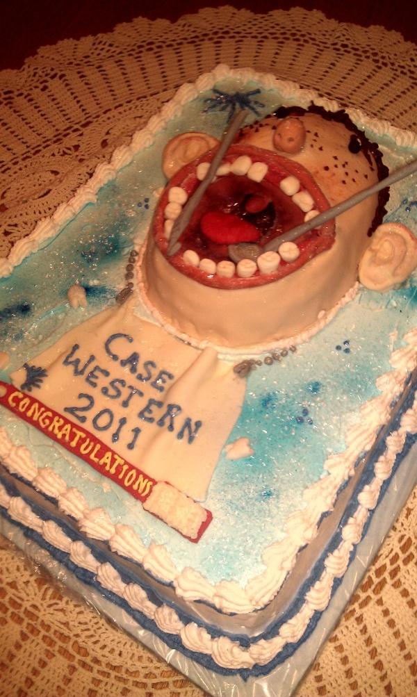 Dental School Graduation Cake Ideas