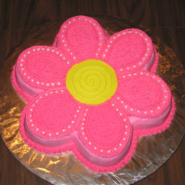 6 Photos of Flower Shaped Cakes