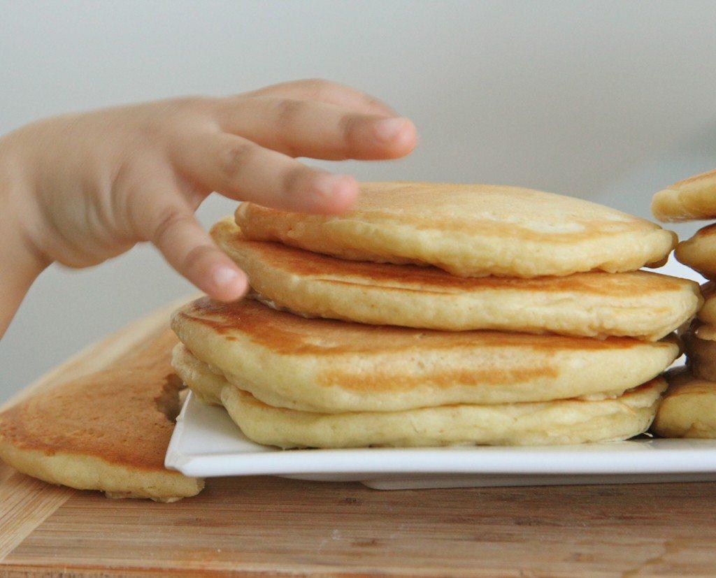 Fluffy Buttermilk Pancake Recipe From Scratch