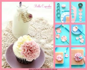 Fondant Flower Ruffle Cake Tutorial