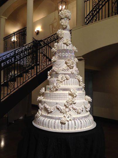 Frosted Art Bakery Wedding Cake
