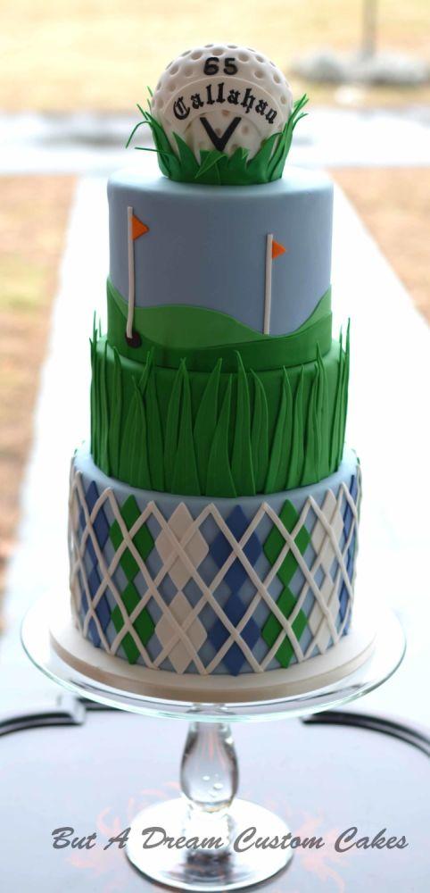 Golf Birthday Cake Ideas