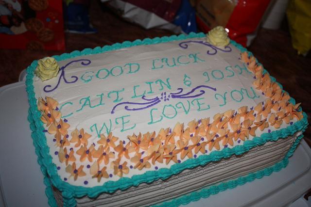 Goodbye Party Cake