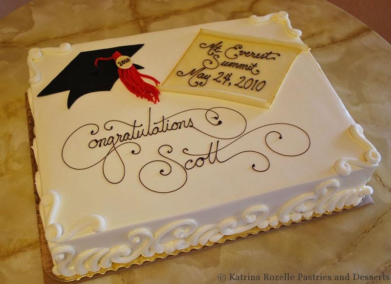 Graduation Sheet Cake Ideas