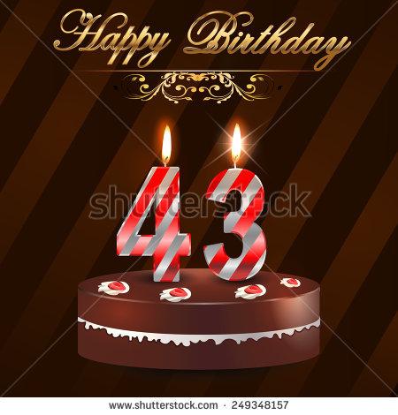 Happy 49 Birthday Cake