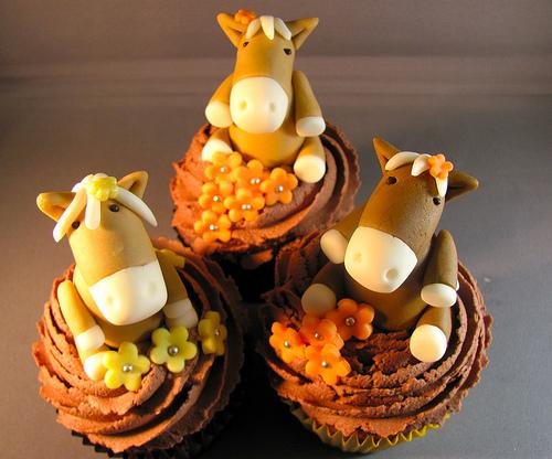 Horse Cupcake Ideas