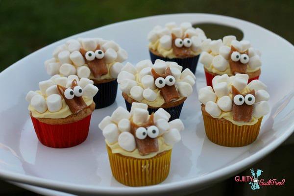 How to Make Sheep Cupcakes