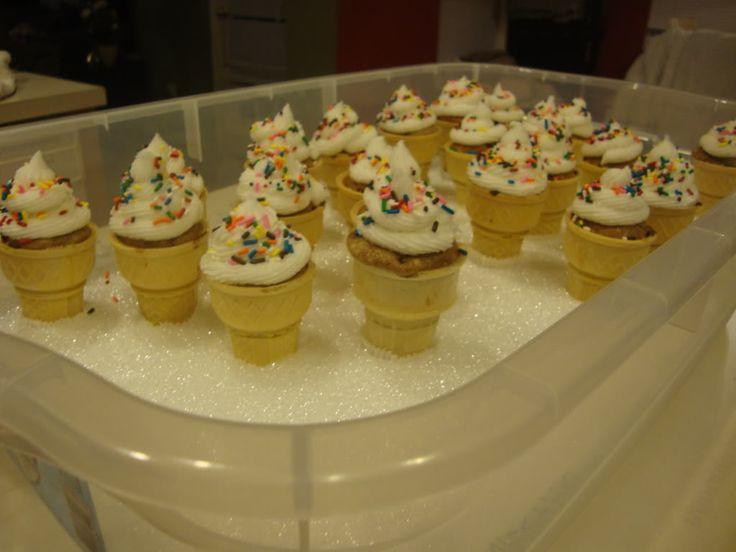 Ice Cream Cone Cupcake Holder DIY