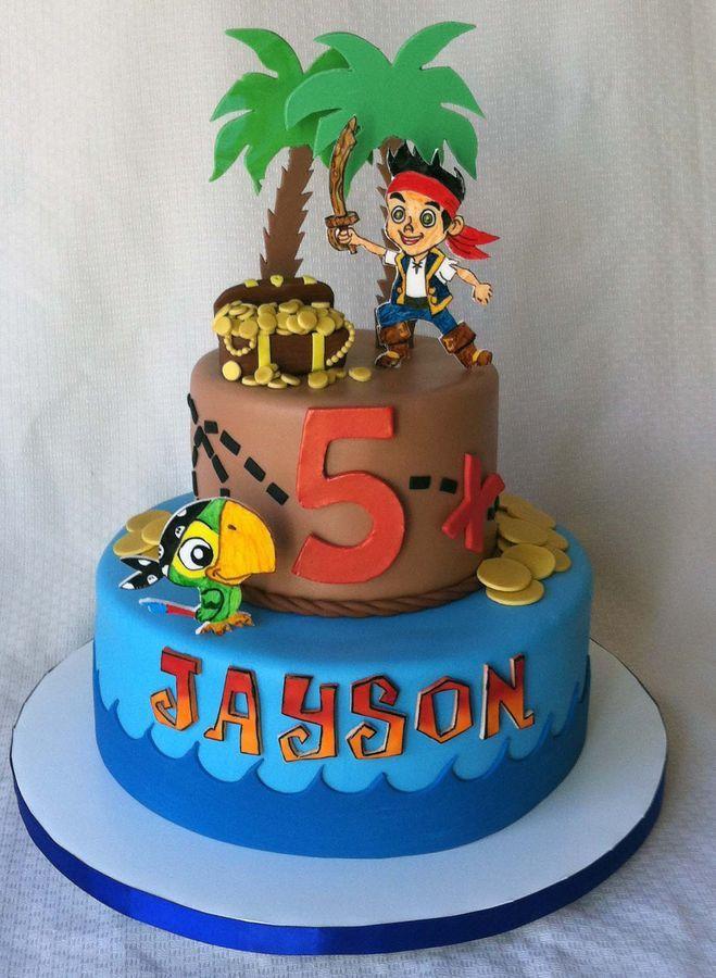 Jake Neverland Pirates Birthday Cake