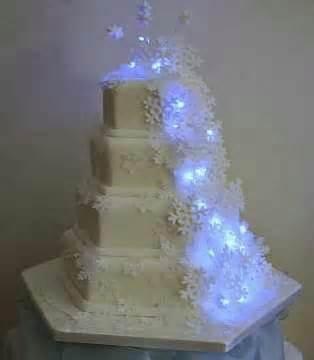 Light-Up Snowflake Cake Decorations