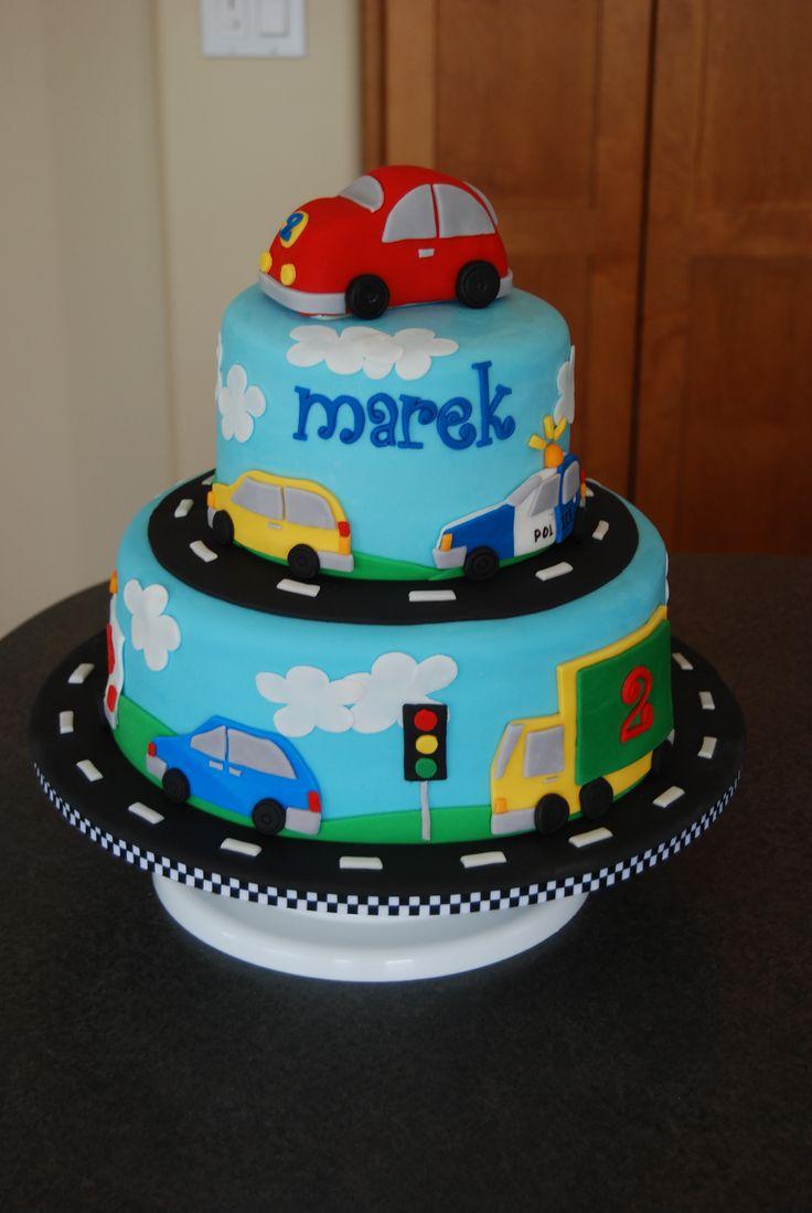 Little Boys Car Birthday Cakes