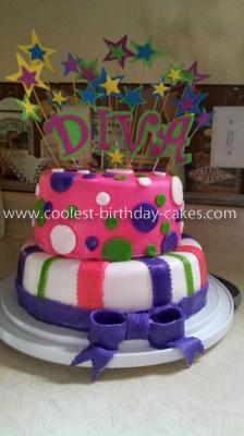 Little Diva Birthday Cake