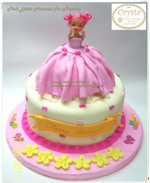 Little Pink Princess Cake for Girl