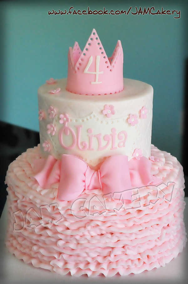 Little Princess Birthday Cakes