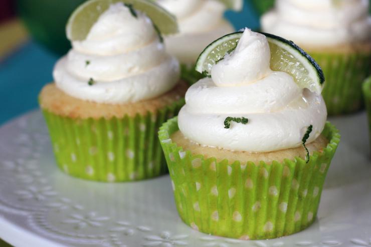 Margarita Cupcakes with Tequila Recipe