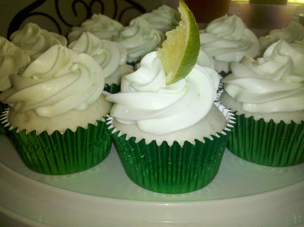 Margarita Cupcakes with Tequila Shots