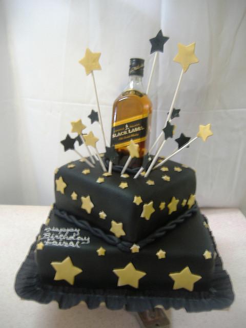 Masculine Birthday Cake