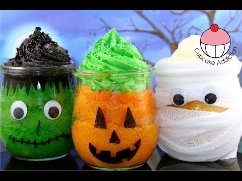My Cupcake Addiction Halloween Jars