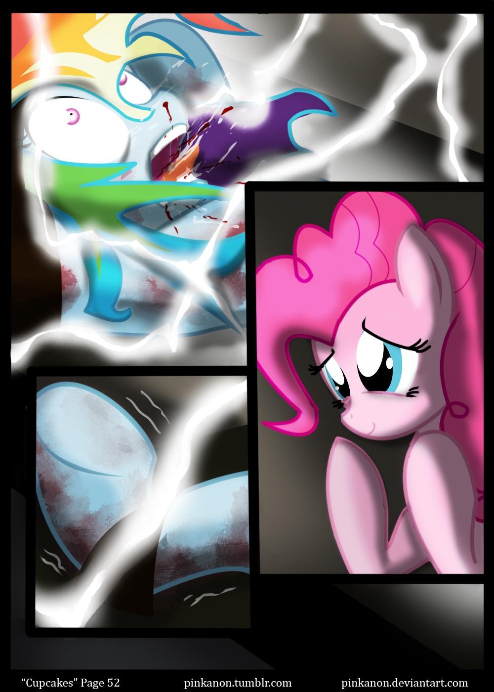 My Little Pony Creepypasta Cupcakes Comic