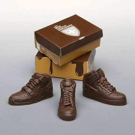 Nike Sneakers Chocolate