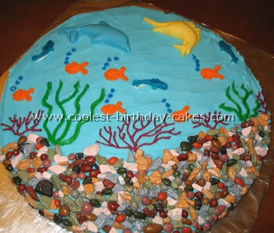 Ocean Birthday Cake Ideas