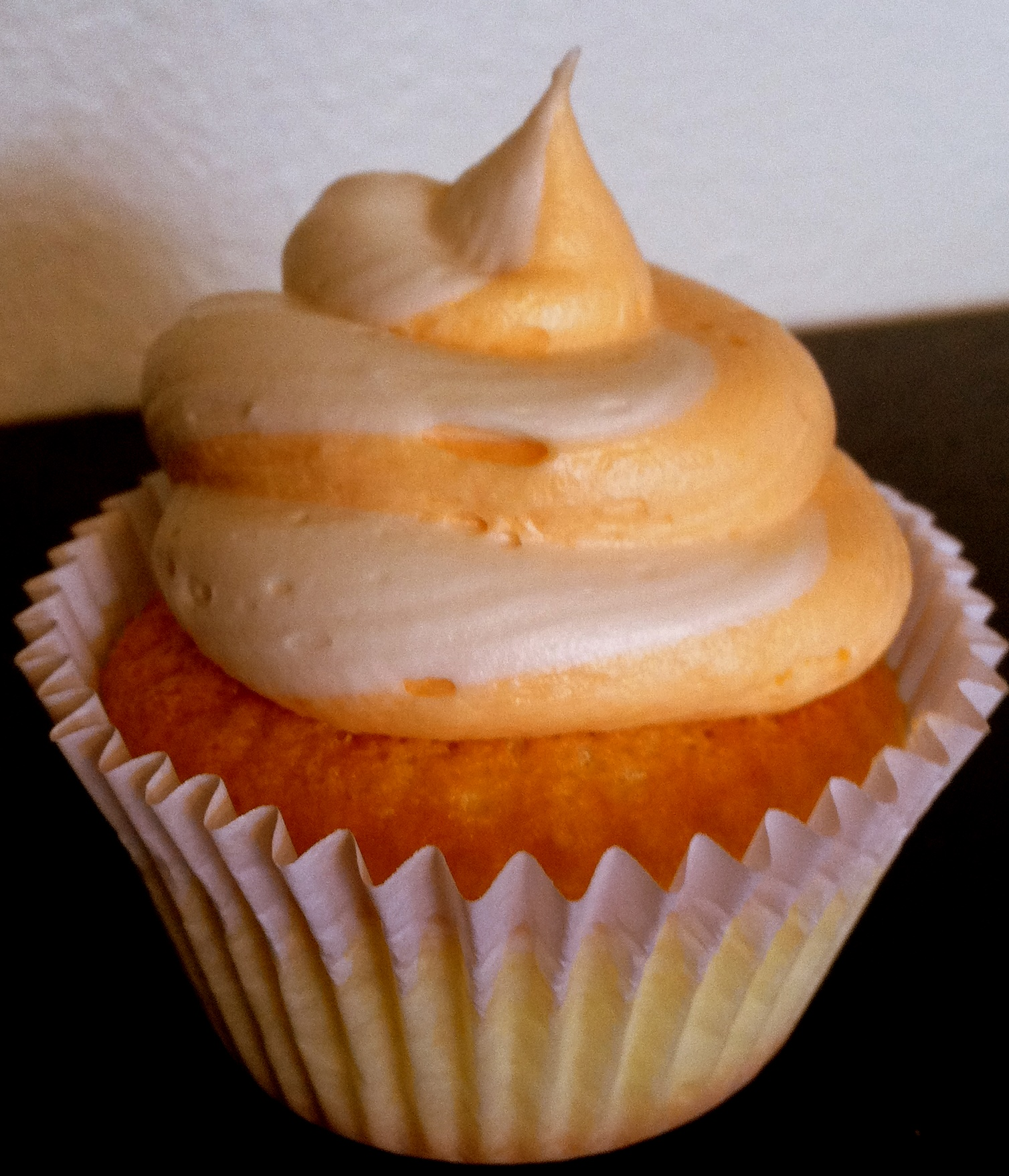 Orange Cupcakes with Buttercream Frosting