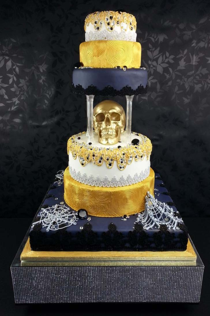 Outrageous Wedding Cakes Bling