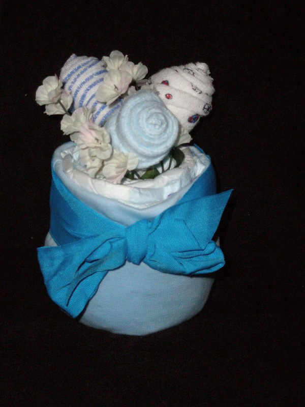Over the Top Diaper Cake