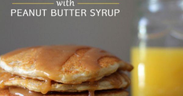 Peanut Butter Banana Pancakes Bisquick