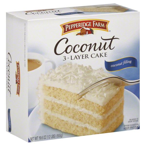 Pepperidge Farm Coconut Cake