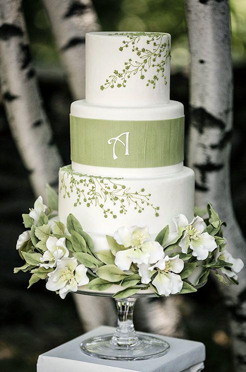 Pinterest Spring Wedding Cakes
