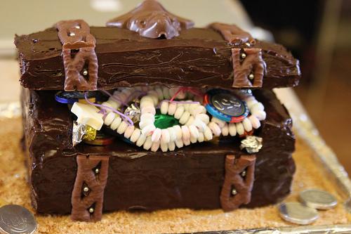 9 Photos of Cat Pirate Cakes