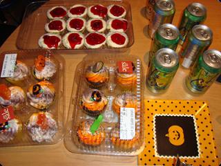 Publix Halloween Cupcakes Party