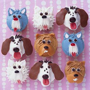 Puppy Cupcake Decorating Ideas