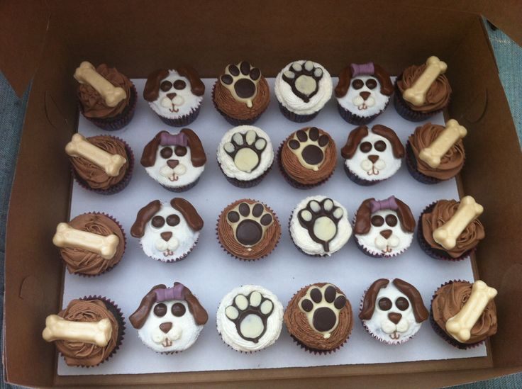Puppy Dog Cupcake Cake