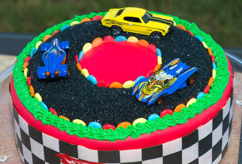Race Car Cake Decorations