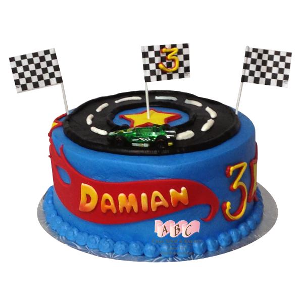 Racing Birthday Cake