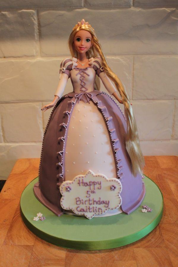 Rapunzel Birthday Cakes Girls