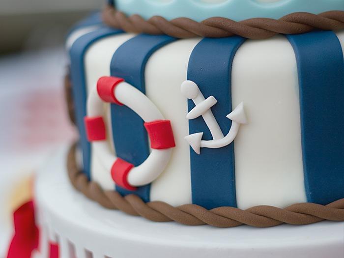 Sailor Birthday Cake Idea