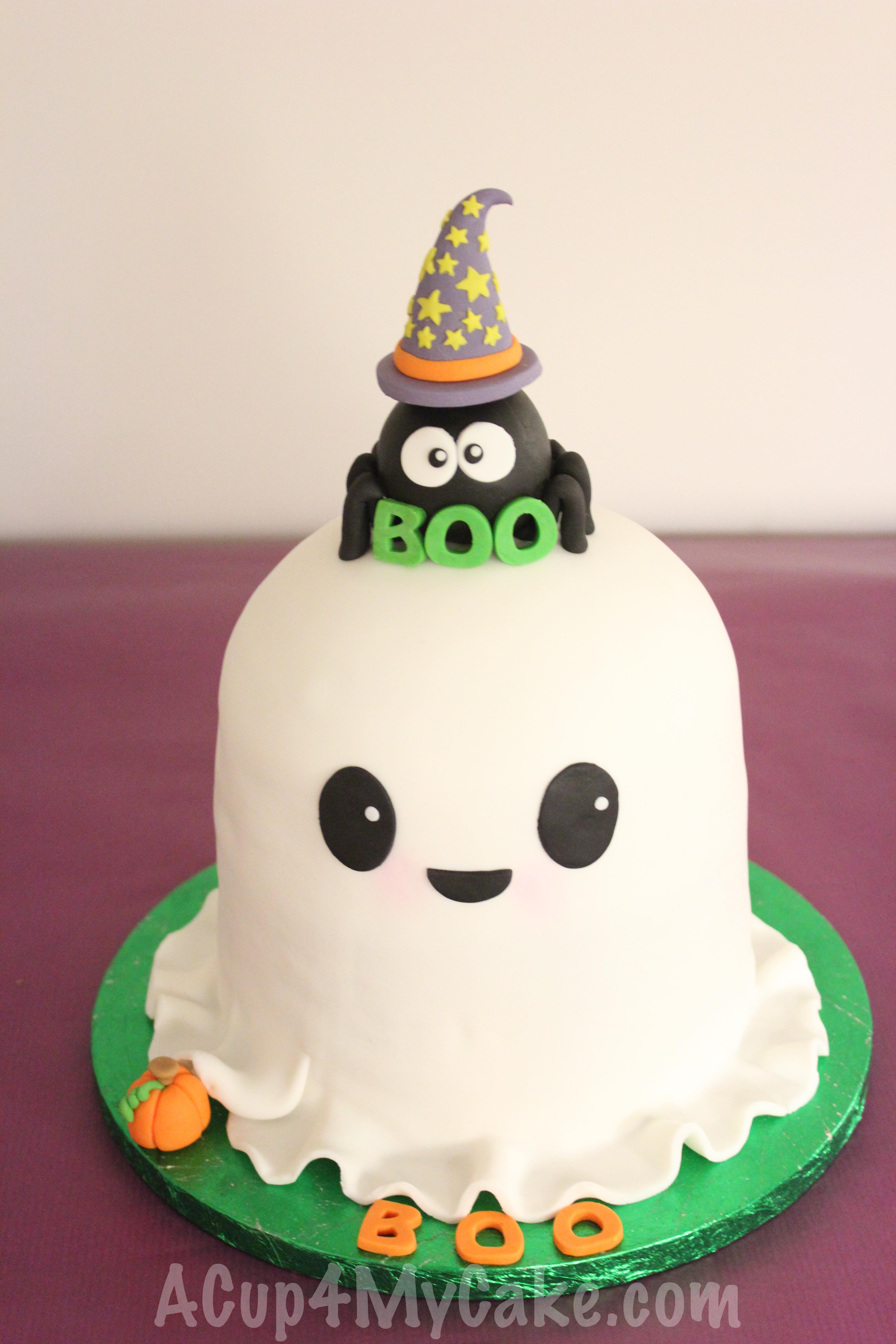 Scary Halloween Cakes Ghosts