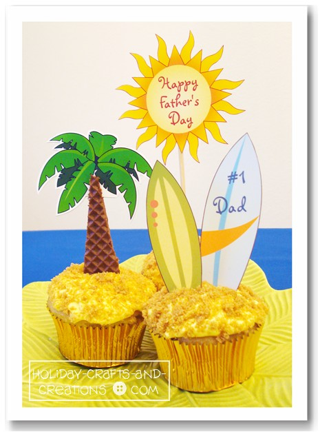 Summer Cupcake Decorating Ideas