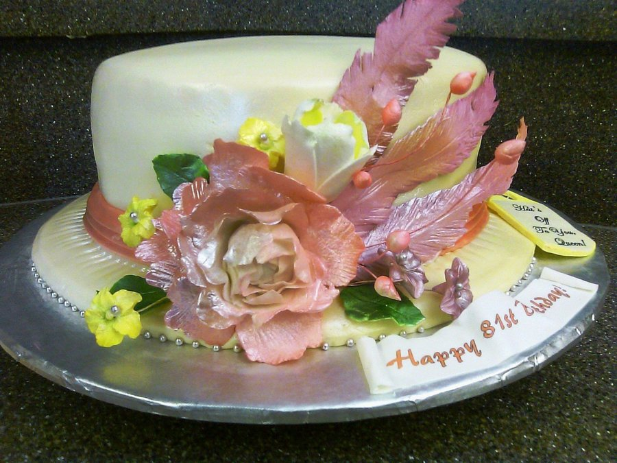 Sunday Church Hat Cake