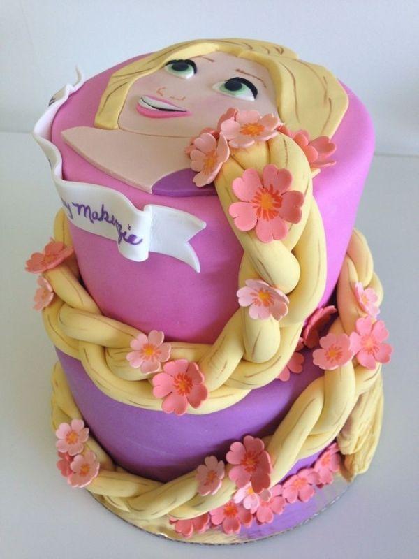 Tangled Rapunzel Birthday Cake
