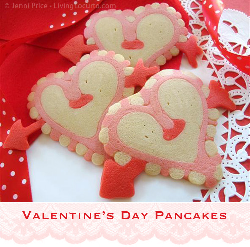 6 Photos of Valentine Day Pancakes