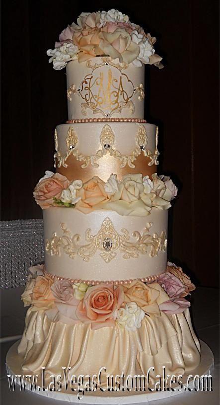 Victorian Romantic Wedding Cake