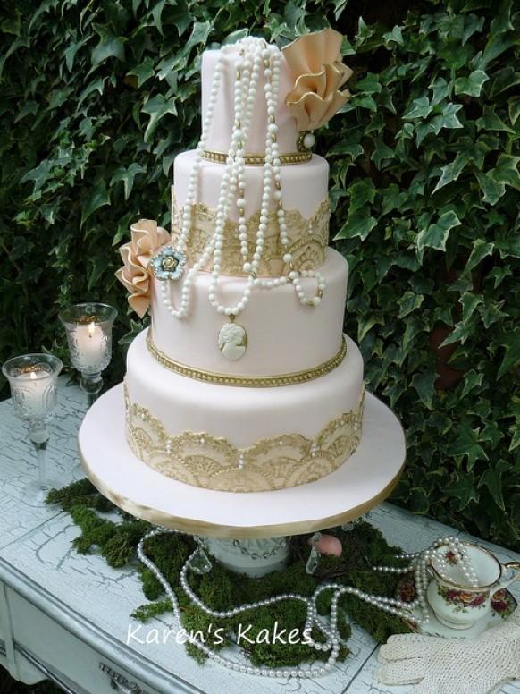 Vintage Wedding Cake Amazing