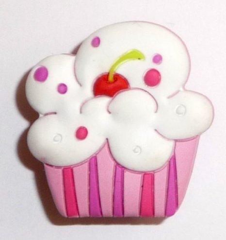 White Pink Cherry Cupcake Sprinkles